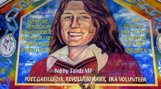 VENERDI' 15 OTTOBRE: PAOLO GULISANO RACCONTA BOBBY SANDS